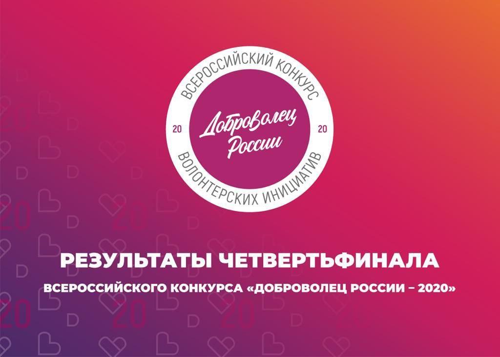 Результаты четвертьфинала Всероссийского конкурса «Доброволец России – 2020»: Иркутская область – первая по СФО